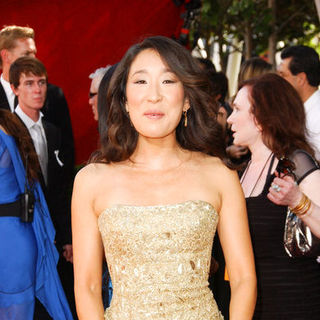 Sandra Oh in The 61st Annual Primetime Emmy Awards - Arrivals