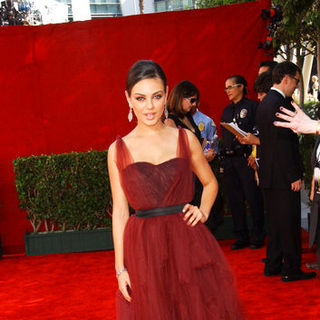 Mila Kunis in The 61st Annual Primetime Emmy Awards - Arrivals