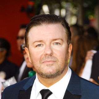 Ricky Gervais in The 61st Annual Primetime Emmy Awards - Arrivals