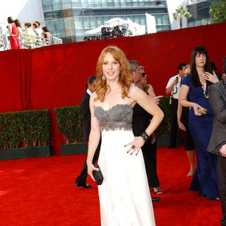 Alicia Witt in The 61st Annual Primetime Emmy Awards - Arrivals