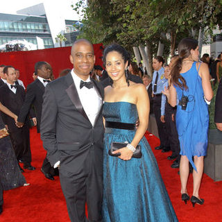 Keith Powell in The 61st Annual Primetime Emmy Awards - Arrivals