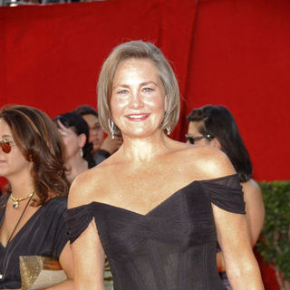 Cherry Jones in The 61st Annual Primetime Emmy Awards - Arrivals