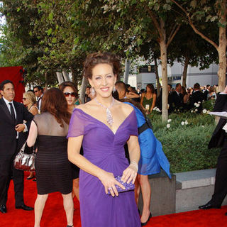 Joely Fisher in The 61st Annual Primetime Emmy Awards - Arrivals