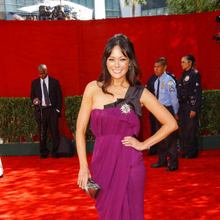 Lindsay Price in The 61st Annual Primetime Emmy Awards - Arrivals - ALO-088209