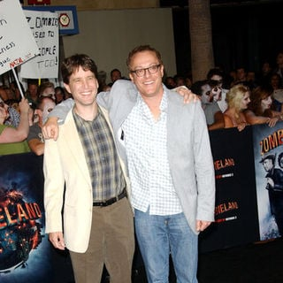 "Rhett Reese, Paul Wernick in ""Zombieland"" Los Angeles Premiere - Arrivals"