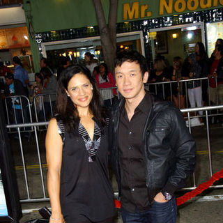 "Monique Gabriela Curnen, Chin Han in ""Couples Retreat"" Los Angeles Premiere - Arrivals"