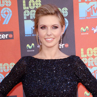 Audrina Patridge in 2009 MTV Latin VMAs - Arrivals