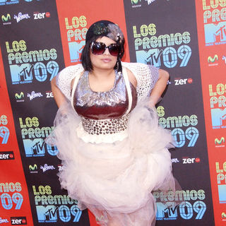 Amandititita in 2009 MTV Latin VMAs - Arrivals