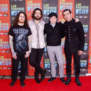 Fall Out Boy in 2009 MTV Latin VMAs - Arrivals