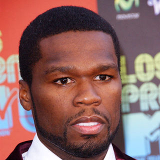 50 Cent in 2009 MTV Latin VMAs - Arrivals