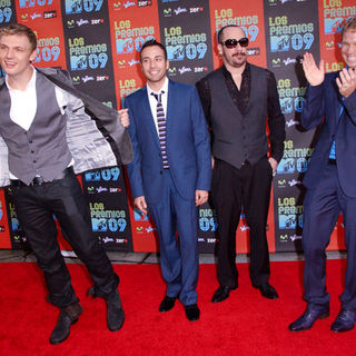 Backstreet Boys in 2009 MTV Latin VMAs - Arrivals