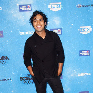 "Kunal Nayyar in Spike TV's ""Scream 2009"" - Arrivals"
