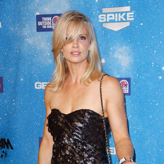 "Monica Potter in Spike TV's ""Scream 2009"" - Arrivals"