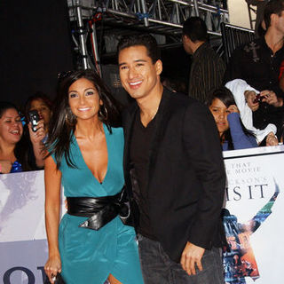 "Mario Lopez, Courtney Mazza in ""This Is It"" Los Angeles Premiere - Arrivals"