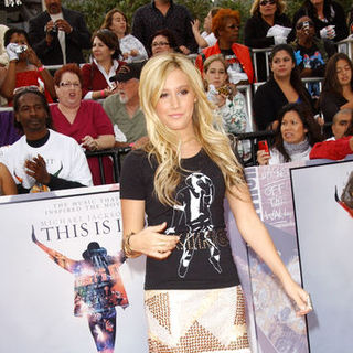 "Ashley Tisdale in ""This Is It"" Los Angeles Premiere - Arrivals"