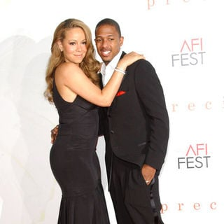 "Mariah Carey, Nick Cannon in ""Precious"" Los Angeles Premiere - Arrivals"