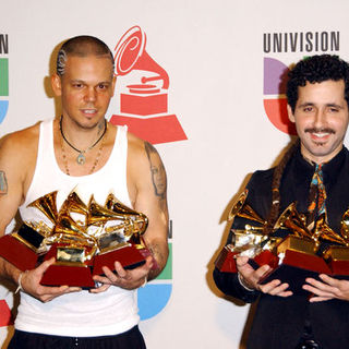 Calle 13 in The 10th Annual Latin GRAMMY Awards - Arrivals
