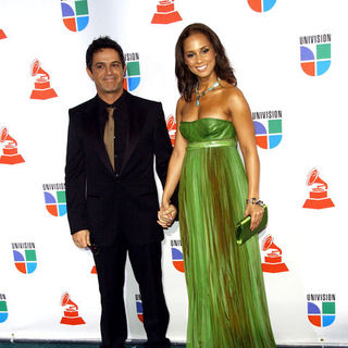 Alicia Keys, Alejandro Sanz in The 10th Annual Latin GRAMMY Awards - Arrivals
