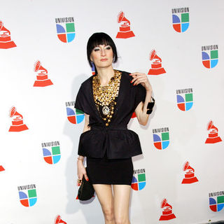 Cucu Diamantes in The 10th Annual Latin GRAMMY Awards - Arrivals