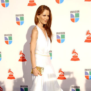 Athina Klioumi de Marturet in The 10th Annual Latin GRAMMY Awards - Arrivals