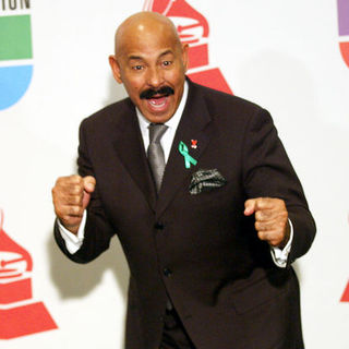 Oscar D'Leon in The 10th Annual Latin GRAMMY Awards - Press Room