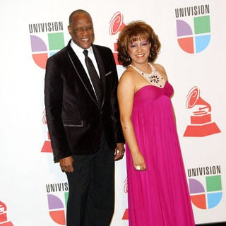 Johnny Ventura, Milly Quezada in The 10th Annual Latin GRAMMY Awards - Press Room
