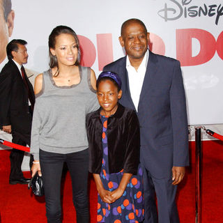 "Forest Whitaker, Keisha Nash, Sonnet Noel Whitaker in ""Old Dogs"" Los Angeles Premiere - Arrivals"