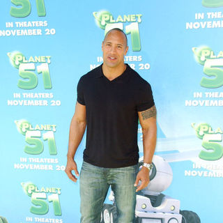 "The Rock in ""Planet 51"" Los Angeles Premiere - Arrivals"