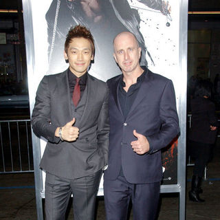 "Rain, James McTeigue in ""Ninja Assassin"" Los Angeles Premiere - Arrivals"