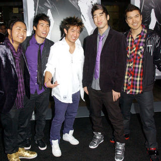 "Quest Crew in ""Ninja Assassin"" Los Angeles Premiere - Arrivals"