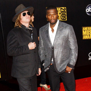 Val Kilmer, 50 Cent in 2009 American Music Awards - Arrivals