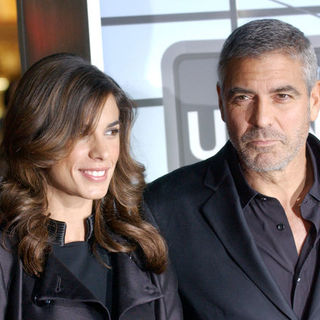 "George Clooney, Elisabetta Canalis in ""Up in the Air"" Los Angeles Premiere - Arrivals"