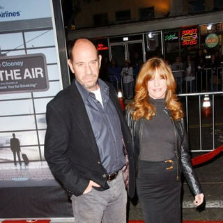 "Miguel Ferrer, Lori Weintraub in ""Up in the Air"" Los Angeles Premiere - Arrivals"