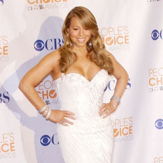 Mariah Carey in 36th Annual People's Choice Awards - Press Room