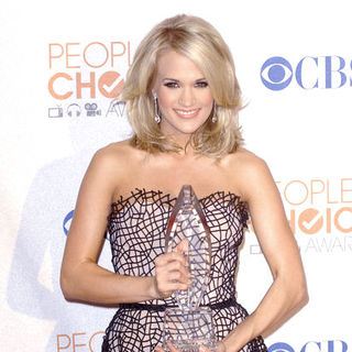 Carrie Underwood in 36th Annual People's Choice Awards - Press Room