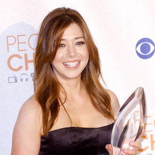 Alyson Hannigan in 36th Annual People's Choice Awards - Press Room