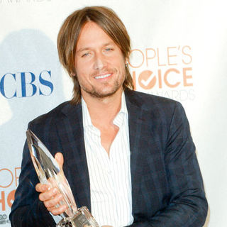 Keith Urban in 36th Annual People's Choice Awards - Press Room