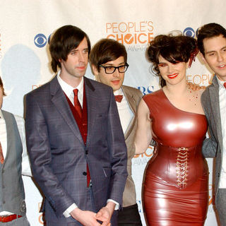 Cobra Starship in 36th Annual People's Choice Awards - Press Room