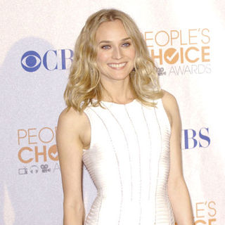 Diane Kruger in 36th Annual People's Choice Awards - Press Room