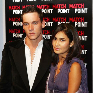 Jonathan Rhys-Meyers, Reena Hammer in Match Point Premiere in Italy - Arrivals
