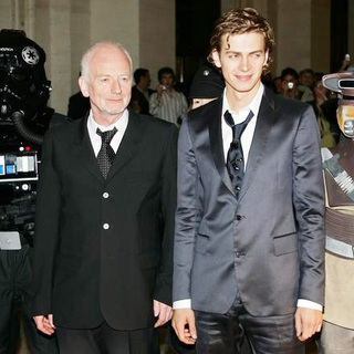Hayden Christensen, Ian McDiarmid in Star Wars Episode III - Revenge of the Sith Premiere in Italy