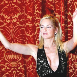 Sharon Stone in Basic Instinct 2 Photocall in Italy