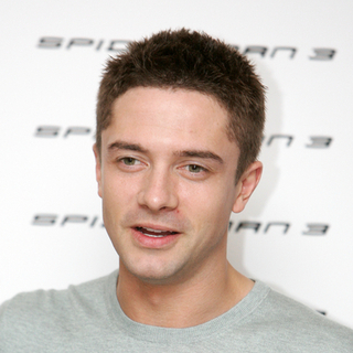 Topher Grace in Spider-Man 3 Photocall in Rome, Italy