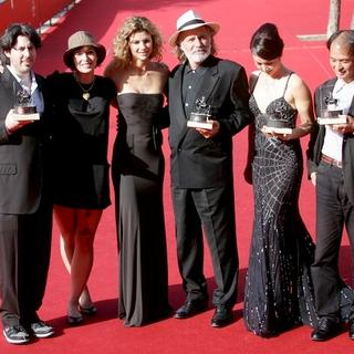 Jason Reitman, Diablo Cody, Martina Colombari, Rade Serbedzija, Jang Wenli, Yuji Sadai in 2nd Rome Film Festival - Red Carpet Award Ceremony