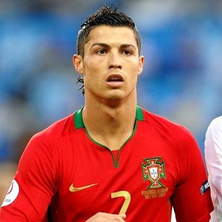 Cristiano Ronaldo in Euro2008 Soccer Championship - Quarter Final - Portugal Vs. Germany (2-3) - June 19, 2008