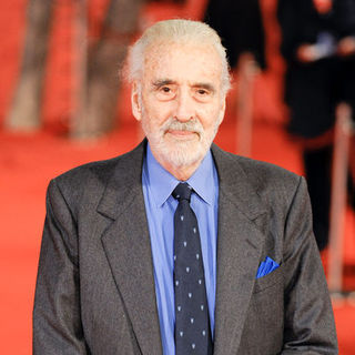 "Christopher Lee in 4th Annual Rome International Film Festival - ""Triage"" Premiere - Arrivals"