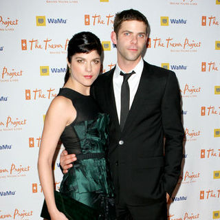 "Selma Blair, Mikey Day in 11th Annual Trevor Project ""Cracked Xmas"" Fundraiser Gala - Arrivals"