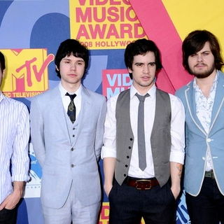 Panic At the Disco in 2008 MTV Video Music Awards - Arrivals - BBC-000045