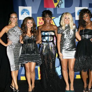Danity Kane in 2008 MTV Video Music Awards - Press Room