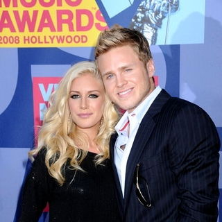 Heidi Montag, Spencer Pratt in 2008 MTV Video Music Awards - Arrivals